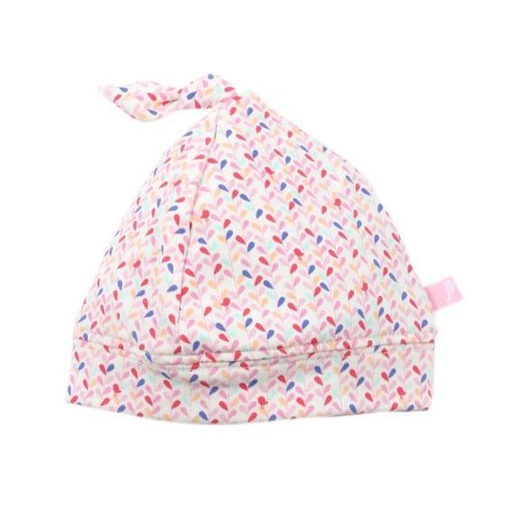 0b83d44ffad Aspen Rain Print Knot Beanie - Bokbo Australia – fine baby gifts ...