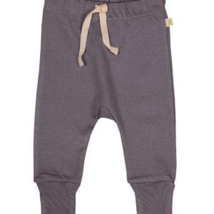 baby boys stretch jersey harem pant organic cotton grey product image