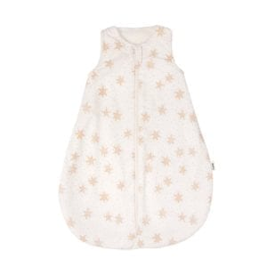 sleeping bag summer muslin TOG 0,8 with star print product image