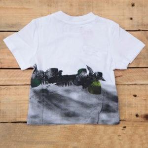baby boys t-shirt chameleon print image back view