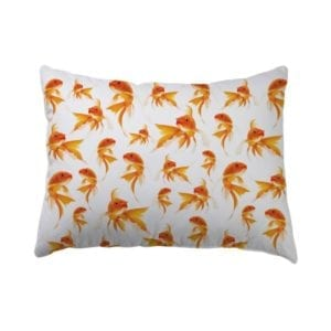 Gold Fish Pillowcase