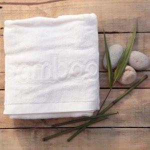 bamboo bath towel image