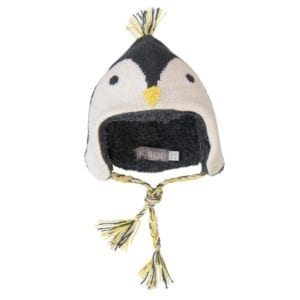 image of penguin style baby hat by boboli