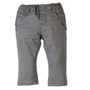 image of toddler grey houndstooth trousers