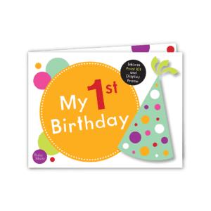 baby keepsake my 1st birthday image