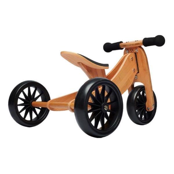 trike converts to balance bike - bamboo fabrication product image