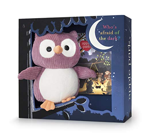 plush owl toy and book boxed gift set product image
