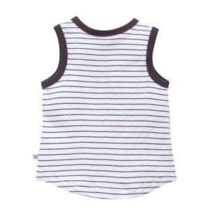 Baby Boys Singlet Top - back view